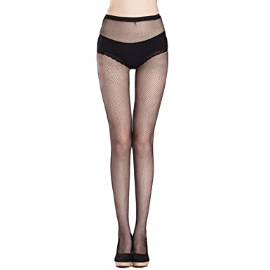 a1772aaff Women Sexy Black Fishnet Net Pattern Burlesque Hoise Pantyhose Tights (One  size
