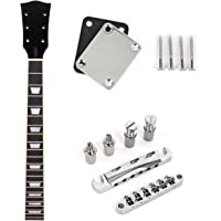 Electric Guitar Neck for Gibson Les Paul 22 Fret With Chrome Tune-o-matic Bridge Tailpiece Neck Plate