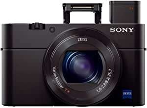 Sony DSC-RX100M3 Cyber-shot RX100 III Advanced Camera, Black