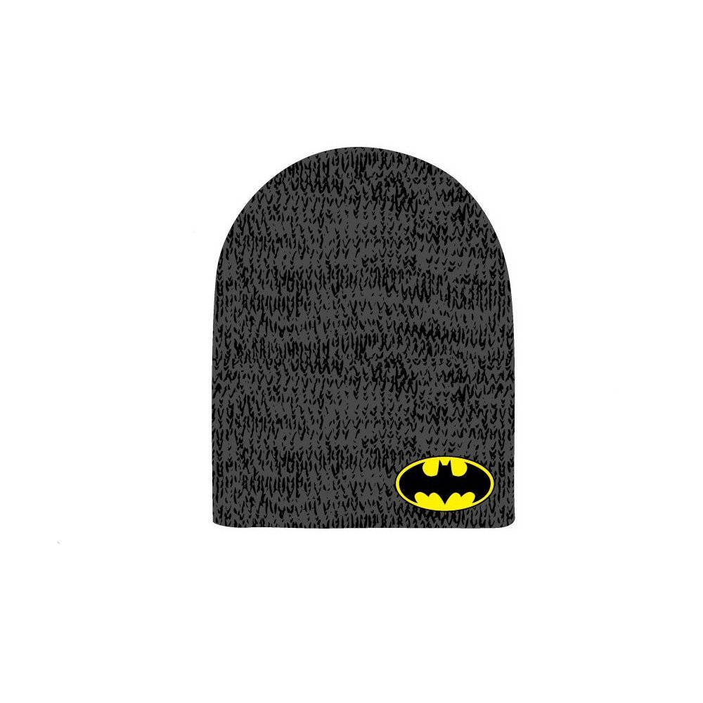 DC Comics Batman Reversible Beanie Marl Slouch Bioworld