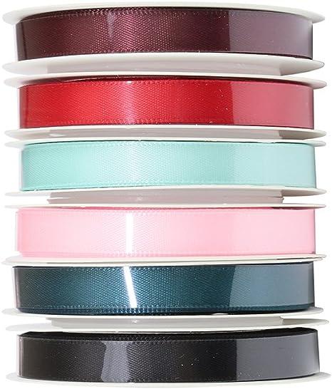 3 m Ripsband Sortiment  2-8 Farben zur Wahl