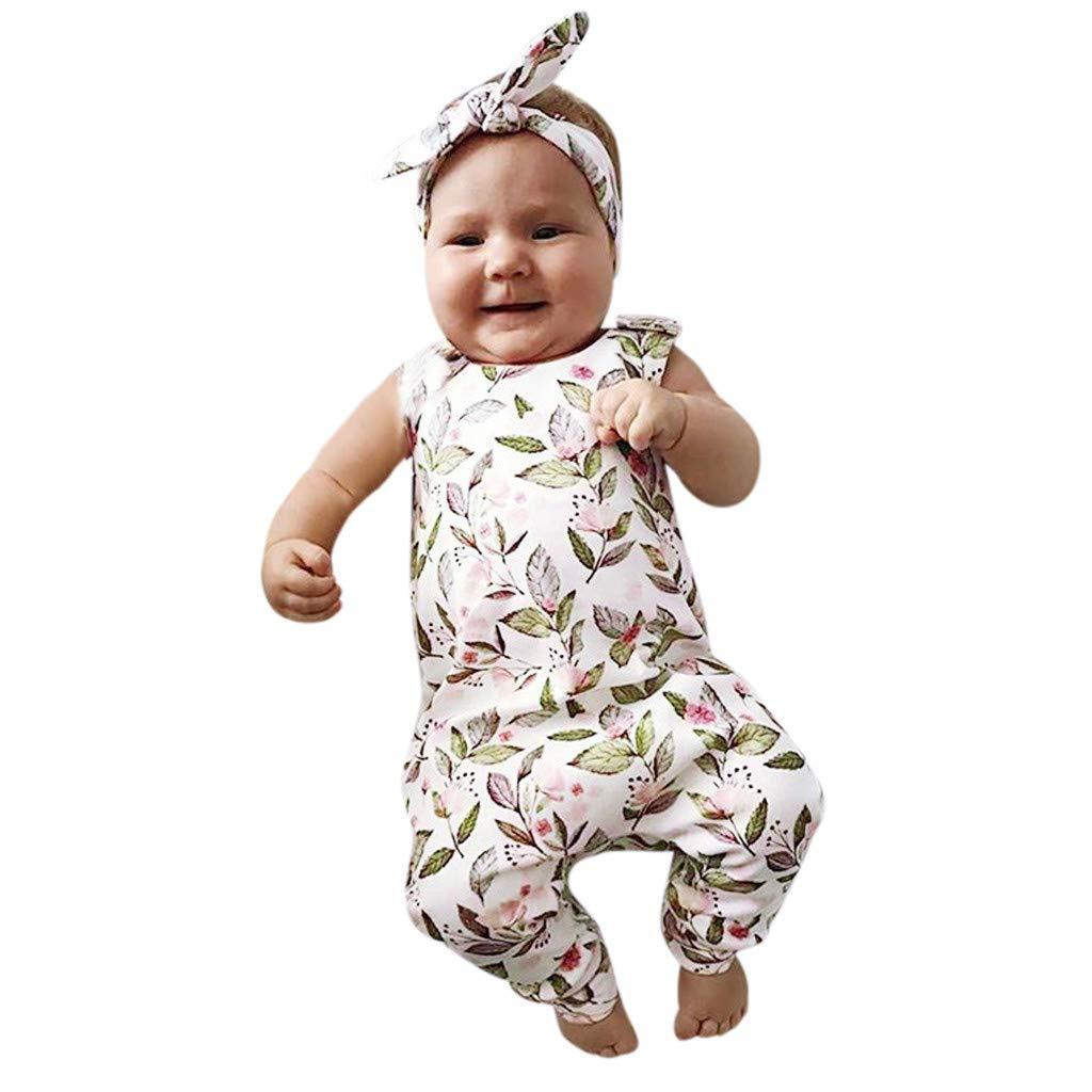 Hokoaidel Vestidos para Bebe ni/ñas Verano 2019 Fiestas Conjuntos de Sling Vestidos Vestir Conjunto Encaje Ropa de Traje 6 Meses 12 Meses 18 Meses 24 Meses
