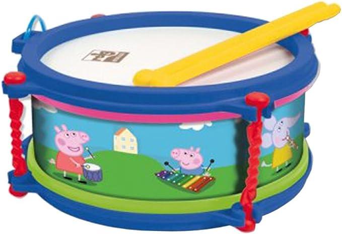 Reig Peppa Pig//PEPPAPIG/ /2323/Drum Kit with Stool/ /