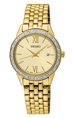 Seiko Women s Quartz Watch with Stainless Steel Strap