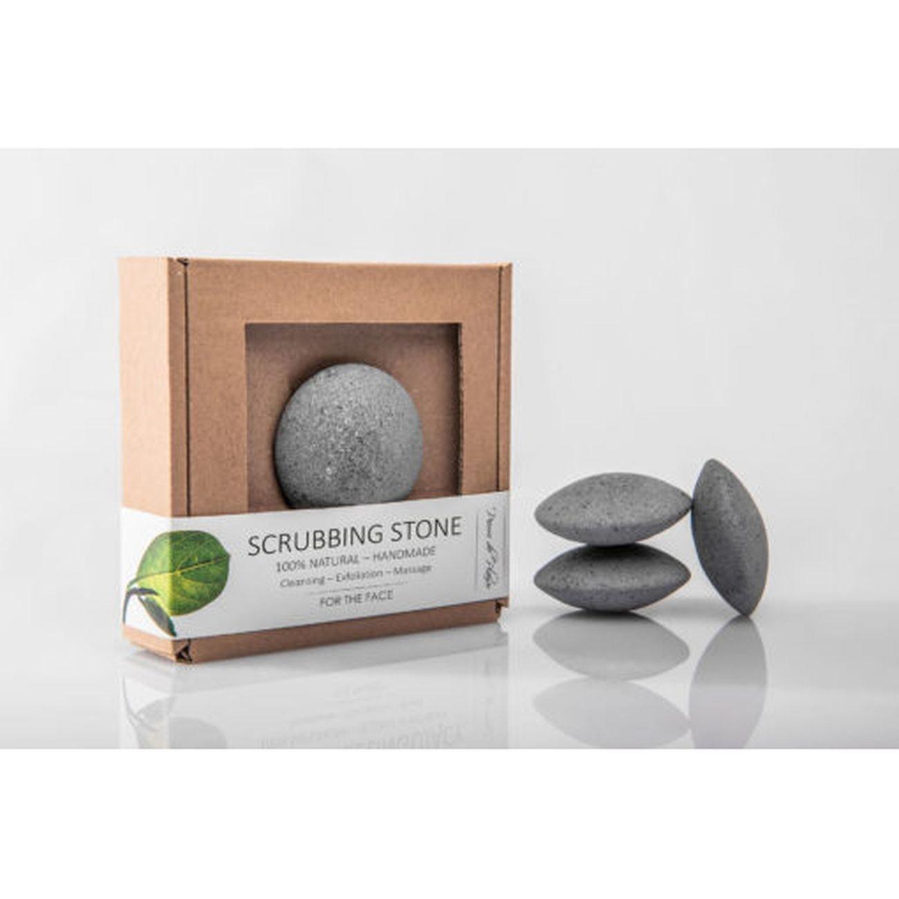 Pierre de Plaisir - Natural Scrubbing Stone for the Face Grey - 40g