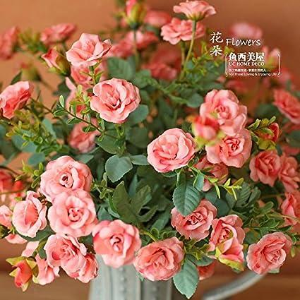 pingofm la emulación de ramo de flores de rosas artificiales ...