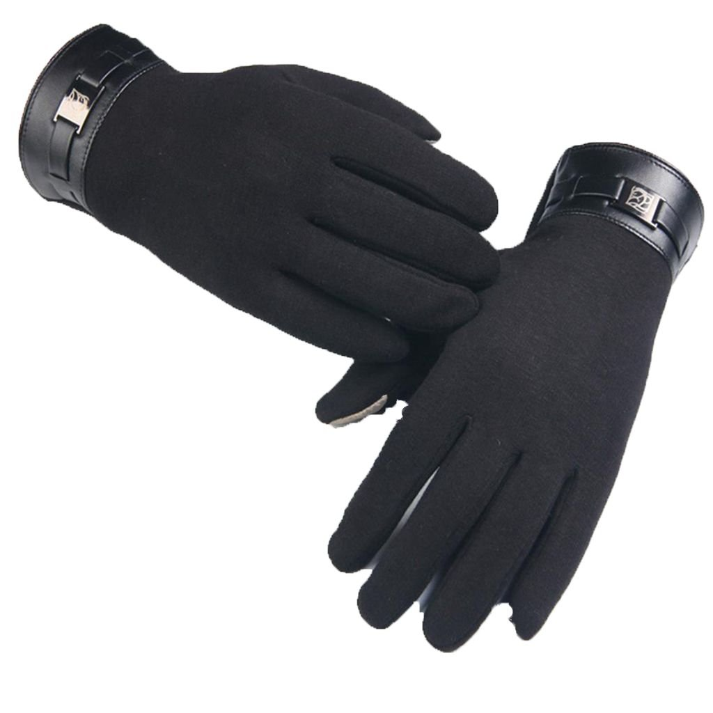 Gloves Hatop Winter Mens Full Finger Smartphone Touch Screen Cashmere Gloves Mittens