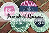 Personalized Clover Mouse Pad - Round or Rectangle