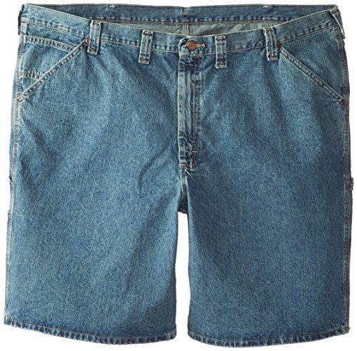 Lee Men's Big-Tall Carpenter Short, Workhorse, 44 - Lee Dungarees Carpenter Jeans