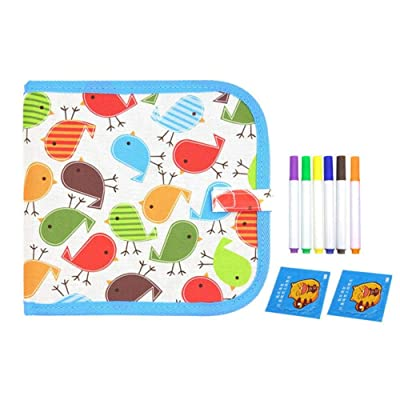 zoochey Writing Tablet Drawing Board, Writing Board Learning Tablet for Kids Drawing Book Erasable Sketching Toys for Painting and Learning, Holiday Birthday Gifts Girl Boy Educational Toy: Pet Supplies