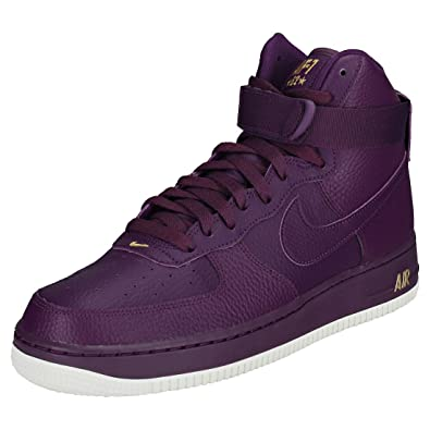 free shipping 1ccd4 48226 Nike Air Force 1 High 07 Mens Trainers Purple - 7 UK