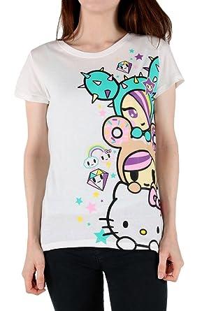 a9cd87af87c84 Tokidoki X Hello Kitty Women s Triple Kawaii T-Shirt  Amazon.co.uk ...