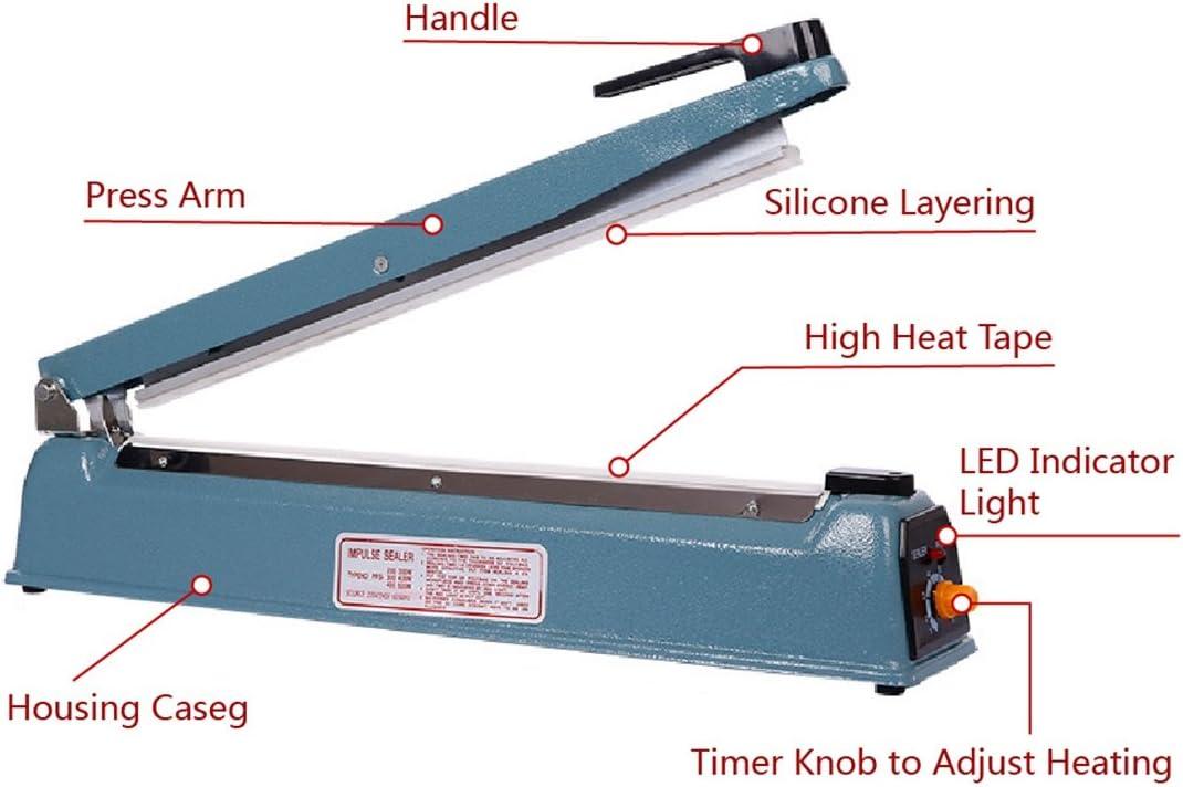 Jessicadaphne Mini Heat Impulse Sealer Seal Packing Plastic Bag sealing machine