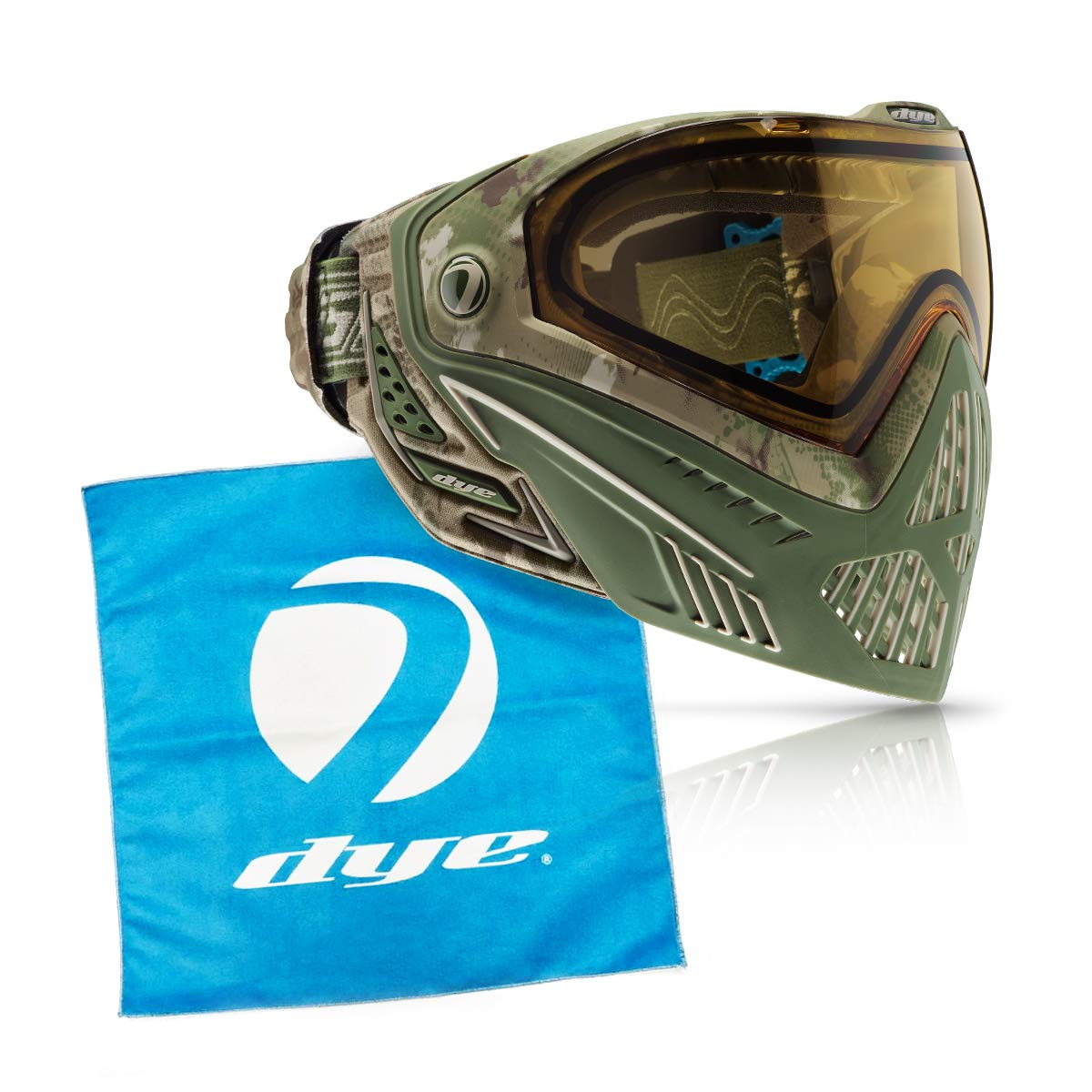 Dye i5 Paintball Goggle (DyeCam i5 with Lens Cloth)