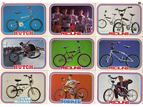Complete Set of BMX Vintage 1984 Trading Cards Rare original bikes