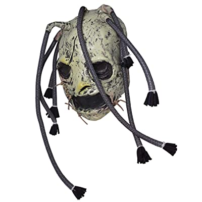 2020 Corey Taylor Latex Mask Dreadlocks Slipknot Fancy Dress Halloween Cosplay Music Party Prop: Clothing