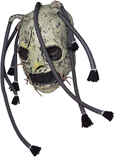 COREY TAYLOR DREADLOCKS LATEX SLIPKNOT ALBUM MASK FANCY DRESS HALLOWEEN COSPLAY