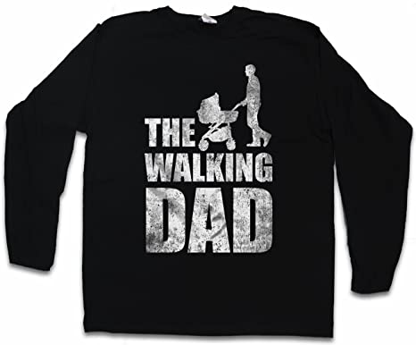 THE WALKING DAD LANGARM LONG SLEEVE T-SHIRT – Vatertag Father's Day Present  Geschenk Dead