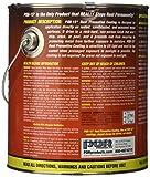 POR-15 45401 Semi Gloss Black Rust Preventive Coating - 1 gal