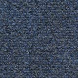 House, Home and More Indoor/Outdoor Carpet with Rubber Marine Backing - Blue 6' x 10' - Carpet Flooring for Patio, Porch, Deck, Boat, Basement or Garage