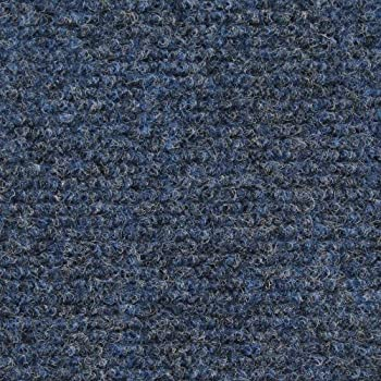 Indoor/Outdoor Carpet With Rubber Marine Backing   Blue 6u0027 X 10u0027