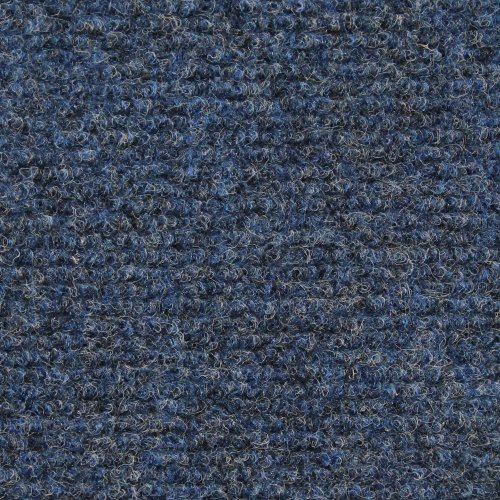 - House, Home and More Indoor Outdoor Carpet with Rubber Marine Backing - Blue - 6 Feet x 10 Feet