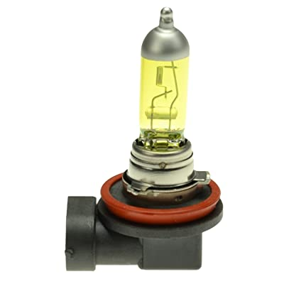HELLA H71071072 Optilux XY Series H8 Xenon Yellow Halogen Bulbs, 12V, 35W, 2 Pack: Automotive