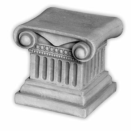 Herrlicher Sockel Podest Für Statuen Oder Pflanzgefäße Aus Steinguss