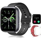 Reloj Inteligente Smartwatch , Sebami Pulsera de actividad Impermeable IPX5 de 1.55 inch Pantalla Completa Táctilpara Hombre