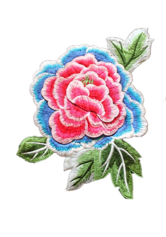TIANRUIクラウン3d花柄パッチ刺繍パッチモチーフトリムSew Onアップリケ裁縫アクセサリーfor布 1pcs 75862 1pcs  B0728DZTDD