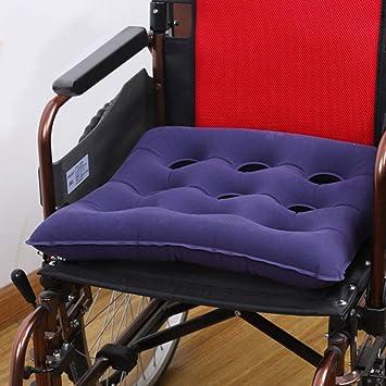 Healifty - Cojín para silla de ruedas hinchable (forma cuadrada ...