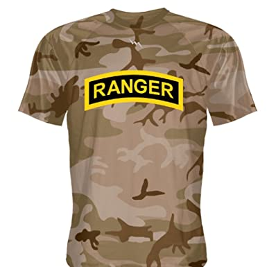 Amazon Com Youth Sand Camo Ranger T Shirt Custom T Shirt Army