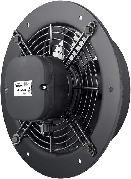 200mm Calidad Eficaz Poder Industrial Ventilación Pared Extractor ...