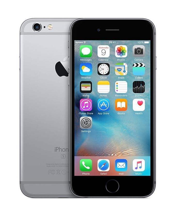 16377d45975 Apple iPhone 6S Unlocked Smartphone (Refurbished): Amazon.es: Electrónica