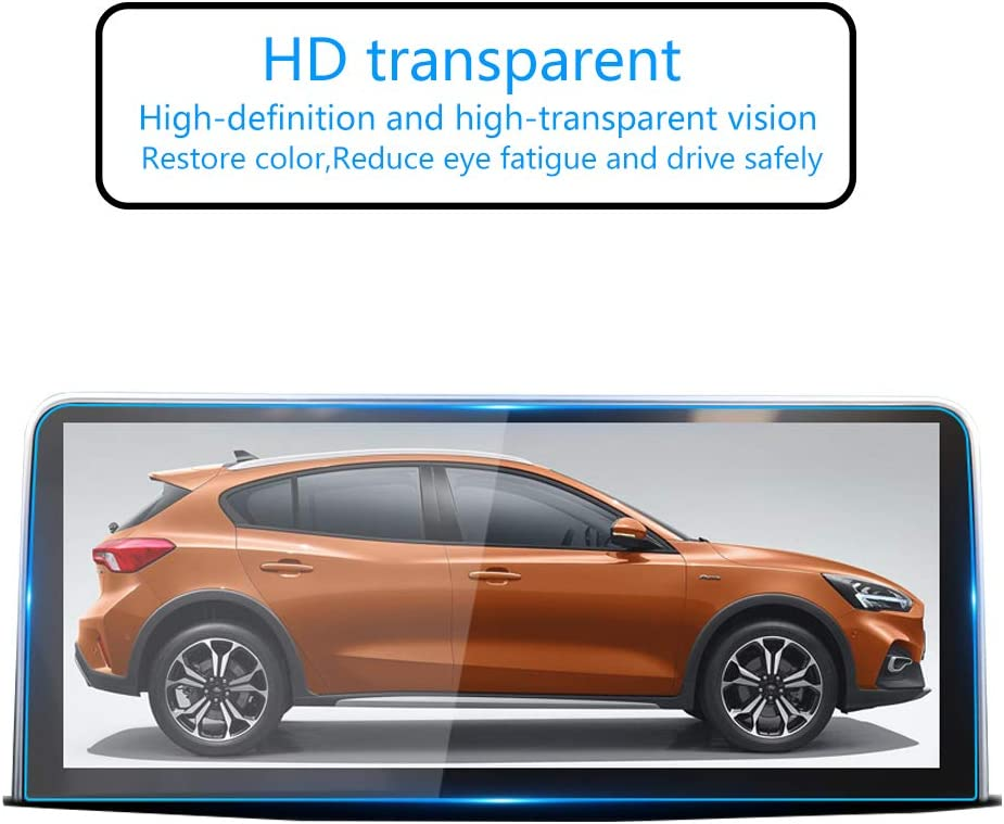 "9H HD Clear Tempered Glass Anti Fingerprint and Scratch Resistance i-Tensodo for 2020 2019 Toyota RAV4 Accessories 7/"" Screen Protector 7/"" RAV4 Control Navigation Touch Screen Protector"