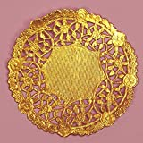 Lancaster Gold Lace Doilies - 4 Inches - 100 Pack