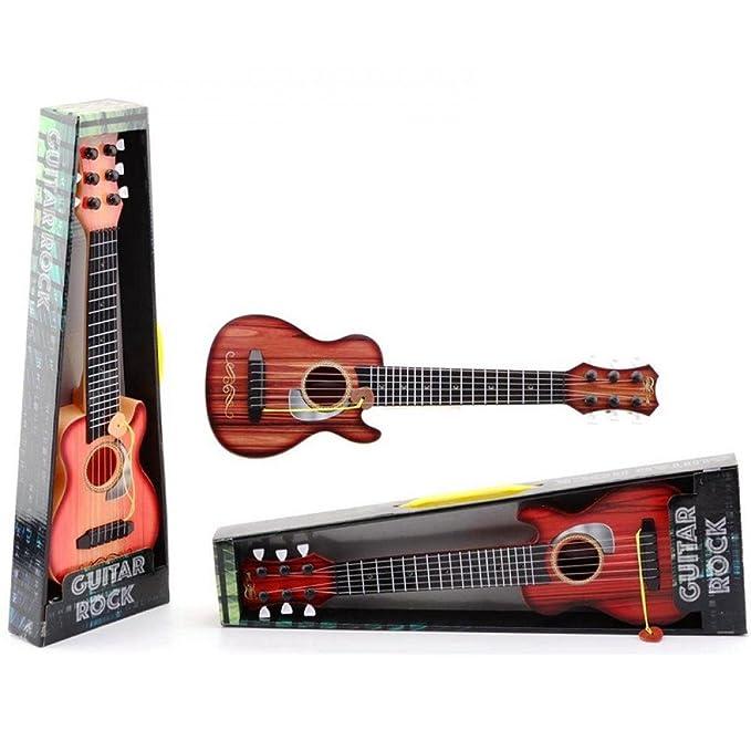 Guitare 6 cordes 44 cm (à partir de 3 ans) avec médiator
