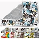 Premium Ironing Blanket Reversible Multipurpose Pad Metalized Silver Woodland Owl