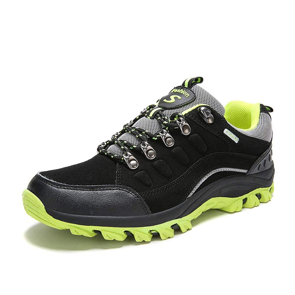 A 37 He-yanjing Women's Outdoor Hiking shoes, Autumn and Winter The Couple Hiking shoes Wear-Resistant Shock Absorbers for Men and Women Outdoor shoes Men's Casual Walking shoes