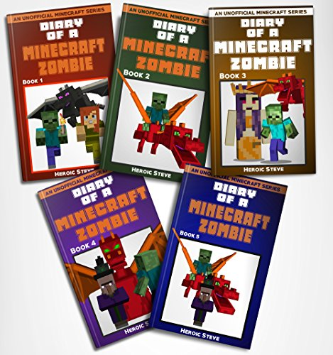 Diary Minecraft Zombie Complete Books ebook product image