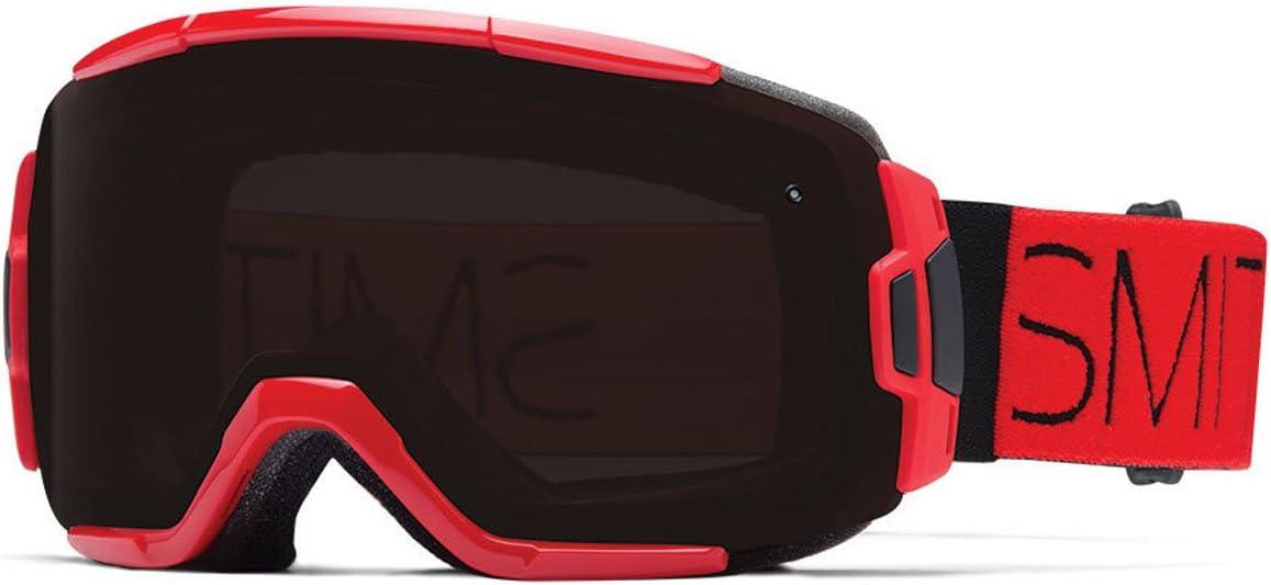 Smith Optics Vice Vaporator Series Winter Sport Snowmobile Goggles Eyewear – Fire Block Blackout One Size Fits All