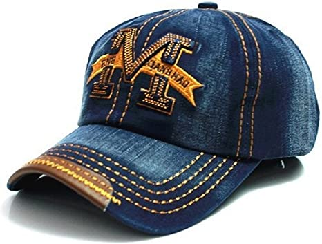 Gorra de béisbol con visera, talla M, estilo hip-hop multicolor ...