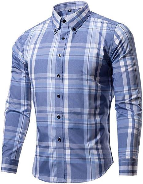 Hombres Camisa Camisa Casual Cardigan,P,XXXL: Amazon.es: Deportes y aire libre