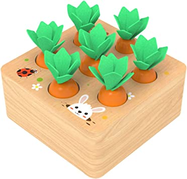 RJJBYY Jenga Classic Game, Intelectual Toys, Carrot Board Games Wooden Childrens Jenga for Kids Niños Niños Niñas: Amazon.es: Deportes y aire libre