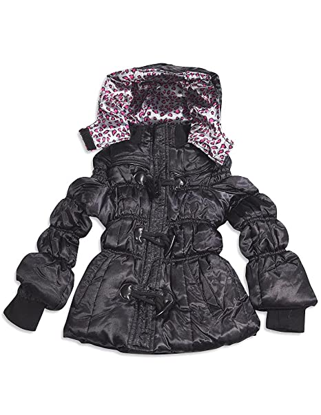 Amazon.com: Chic – Little Girls de terciopelo invierno ...