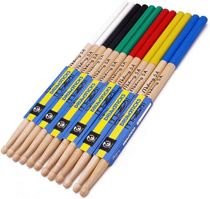 Hochwertige 5A leuchtende Drumsticks Percussion Instrument Zubehör