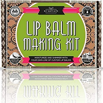 Diy Lip Balm Kit 73 Piece Set Homemade Natural And Organic Includes Tubes Beeswax Pouch Essential Oils Labels Stir Sticks More
