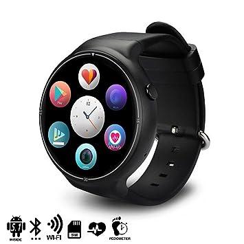 DAM TEKKIWEAR. DMX122BK. Smartwatch Phone Ak-14 Pro Quad Core con Sistema Operativo Android 5.1, Monitor Cardíaco, 16Gb De Memoria Y Wi-Fi.