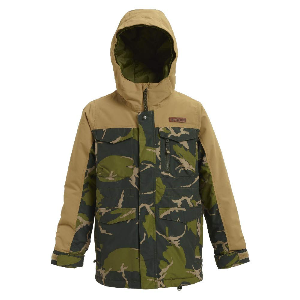 Burton Boys Covert Jacket, Medium, MTN Camo/Kelp