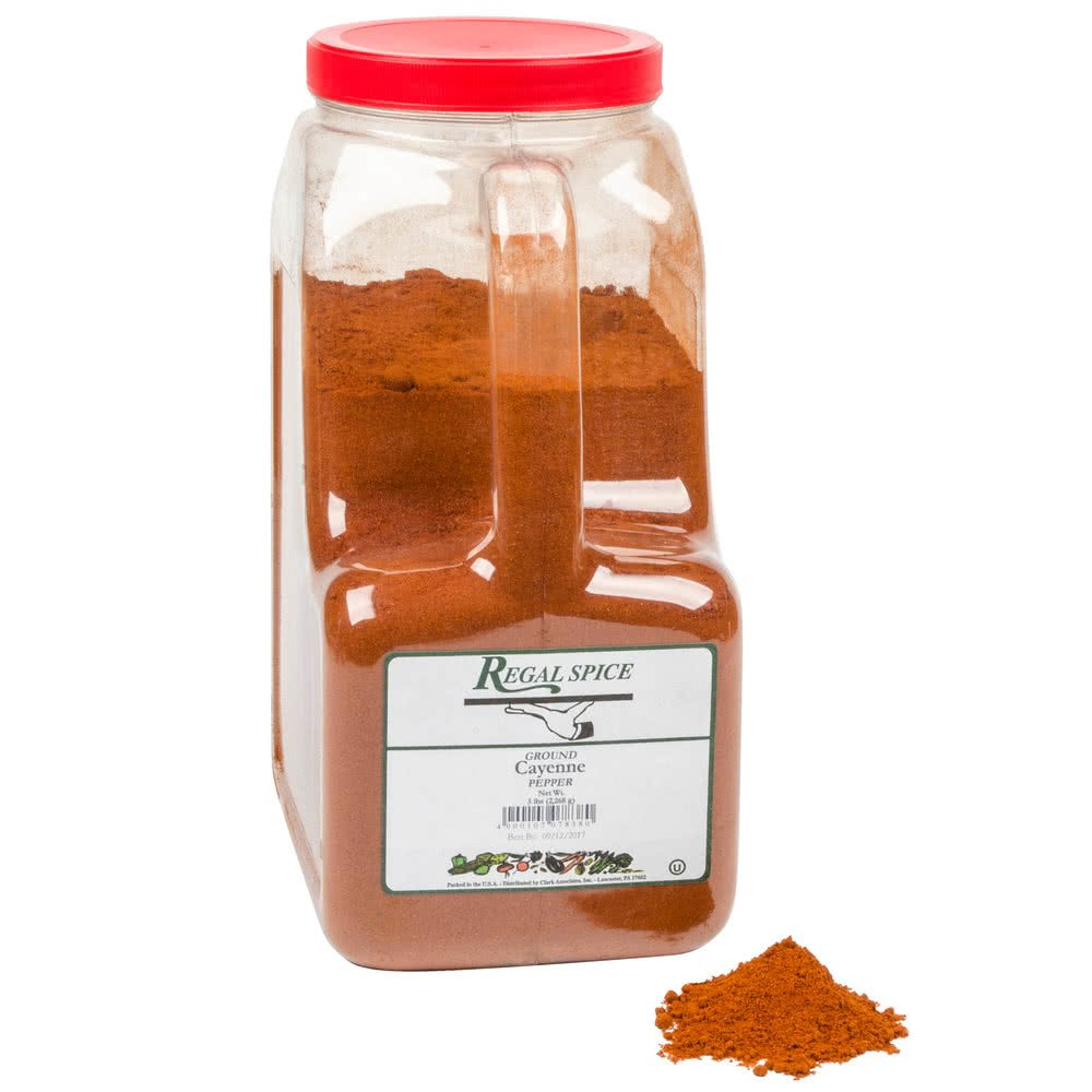 Regal Ground Cayenne Pepper - 5 lbs.